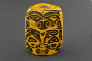 Golden spiral Mask Totem