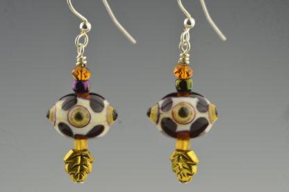 bird eye earrings