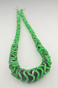 blossom fold necklace