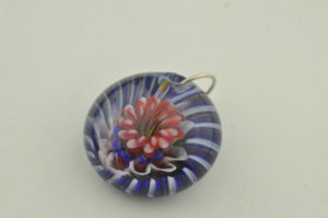 under sea urchin pendant
