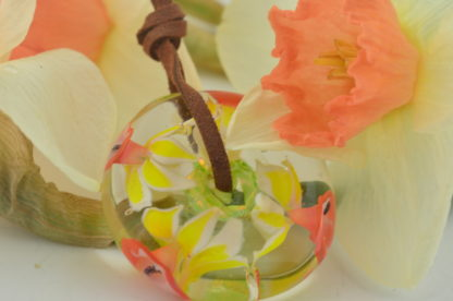 daffodil / Jonquil Disk Bead