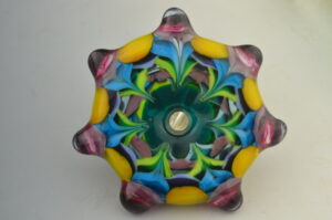 7 pointed stratified color star