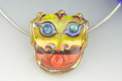 glow man mask