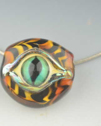 cats eye with special silver glass